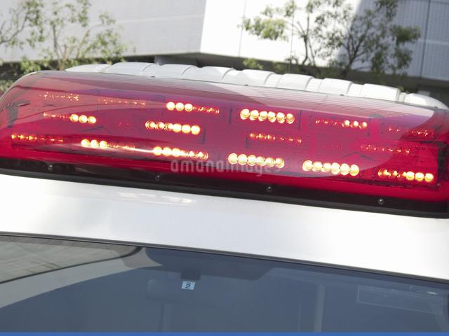救急車の赤色灯の写真素材 [FYI04176911]