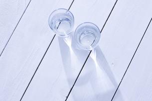 水の入ったグラスの写真素材 [FYI04177361]