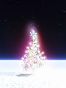 クリスマスツリーの写真素材 [FYI04177463]