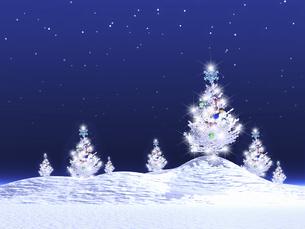 クリスマスツリーの写真素材 [FYI04177466]