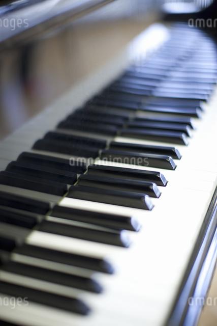 ピアノの鍵盤の写真素材 [FYI04179657]