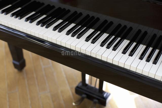ピアノの鍵盤の写真素材 [FYI04179660]