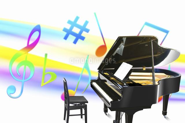 ピアノの写真素材 [FYI04179681]