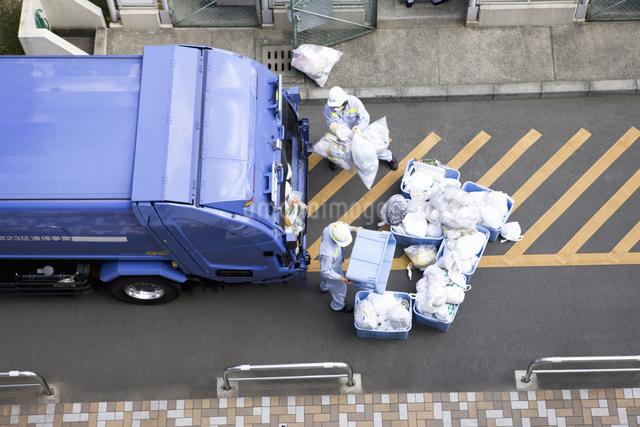 ゴミ収集の写真素材 [FYI04180044]