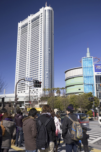 東京ドームホテルと後楽園の写真素材 [FYI04180219]