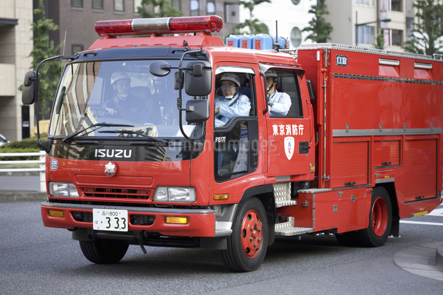 消防自動車の写真素材 [FYI04180245]