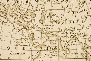 古地図の写真素材 [FYI04180286]