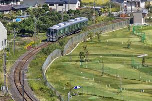 日本の鉄道、和歌山線227系の写真素材 [FYI04181167]