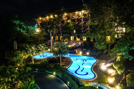 ラグジュアリーホテルのイメージ(スリランカ・キャンディー)の写真素材 [FYI04181717]