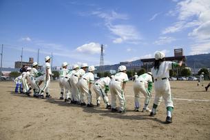 少年野球チームの写真素材 [FYI04183119]
