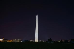 ワシントン記念塔のイメージの写真素材 [FYI04183869]