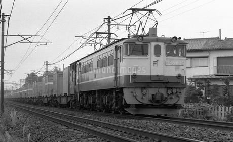 鉄道 国鉄・東北本線 EF65電気機関車の写真素材 [FYI04183936]