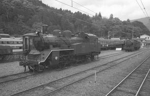 鉄道 私鉄・大井川鉄道C12形蒸気機関車の写真素材 [FYI04183949]