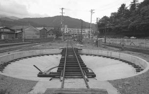 鉄道 私鉄・大井川鉄道 転車台の写真素材 [FYI04183959]
