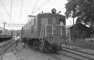 鉄道 私鉄・大井川鉄道E10形電気機関車の写真素材 [FYI04183960]