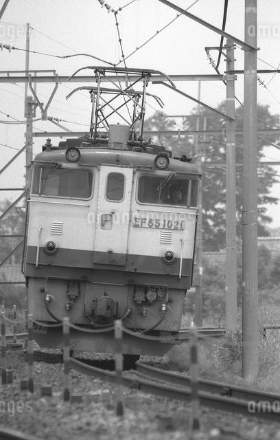鉄道 国鉄・東北本線 EF65形電気機関車の写真素材 [FYI04183964]