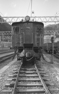 青梅線・ED16 18号電気機関車の写真素材 [FYI04184092]