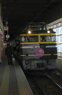 鉄道 JR西日本・北陸本線金沢駅 特急トワイライトエクスプレスの写真素材 [FYI04184176]
