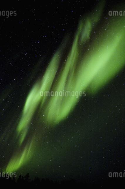 カナダ/イエローナイフのオーロラの写真素材 [FYI04185121]