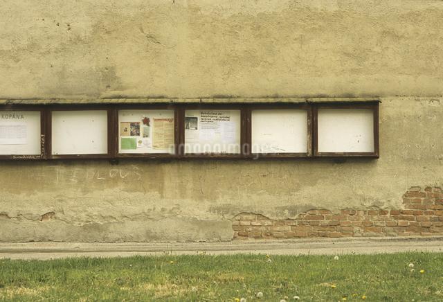 壁の掲示板の写真素材 [FYI04185181]