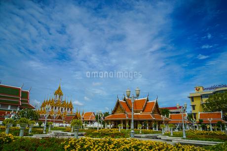 ワット・ラチャナダラム ロハプラサート(タイ王国 バンコク)の写真素材 [FYI04187239]