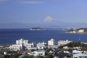 江ノ島と富士山の写真素材 [FYI04187485]