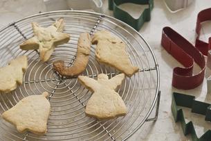 手作りクッキーの写真素材 [FYI04187576]