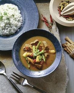 タイ風牛肉カレーの写真素材 [FYI04187855]