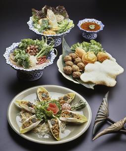 タイ料理集合の写真素材 [FYI04187864]