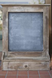 アンティーク黒板の写真素材 [FYI04189450]