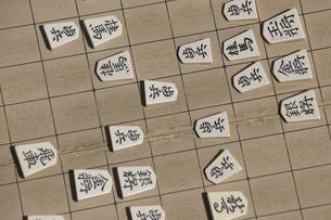 将棋をさすの写真素材 [FYI04190179]