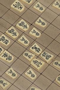 将棋をさすの写真素材 [FYI04190182]