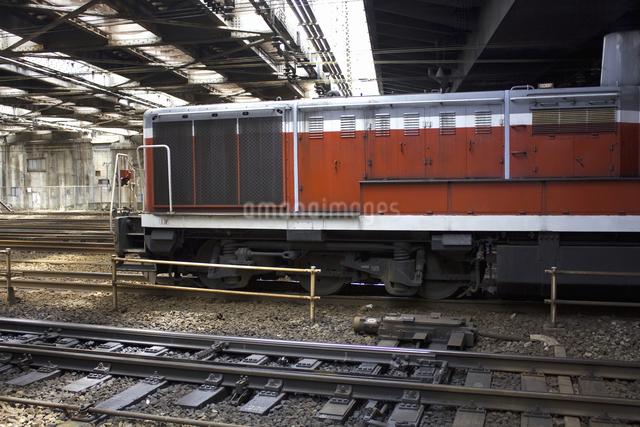 ディーゼル機関車の写真素材 [FYI04190630]