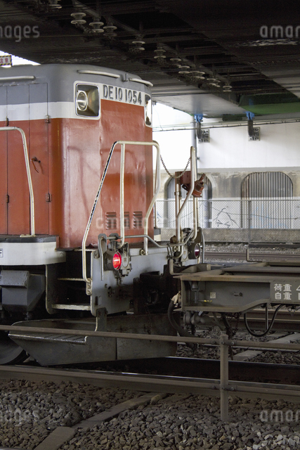 ディーゼル機関車の写真素材 [FYI04190631]