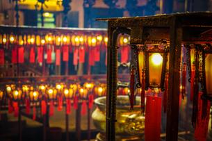 香港・文武廟の写真素材 [FYI04191457]