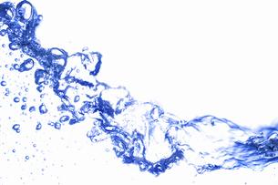 白バックの波の写真素材 [FYI04192003]