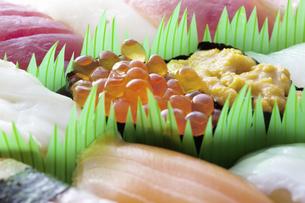 お寿司の写真素材 [FYI04192483]