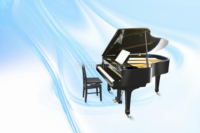 ピアノの写真素材 [FYI04192599]