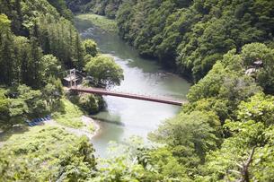 相模川の弁天橋の写真素材 [FYI04193394]