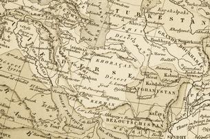 古地図の写真素材 [FYI04193445]