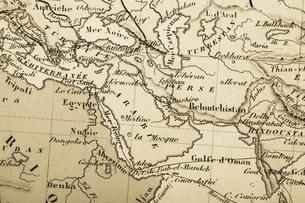 古地図の写真素材 [FYI04193487]