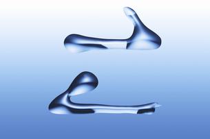 液体の記号の写真素材 [FYI04195408]