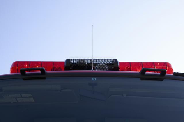 消防車の写真素材 [FYI04195821]