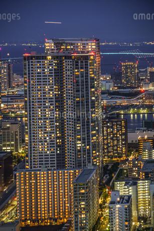 カレッタ汐留からの東京の夜景の写真素材 [FYI04196044]
