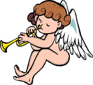 天使のイラスト素材 [FYI04197081]