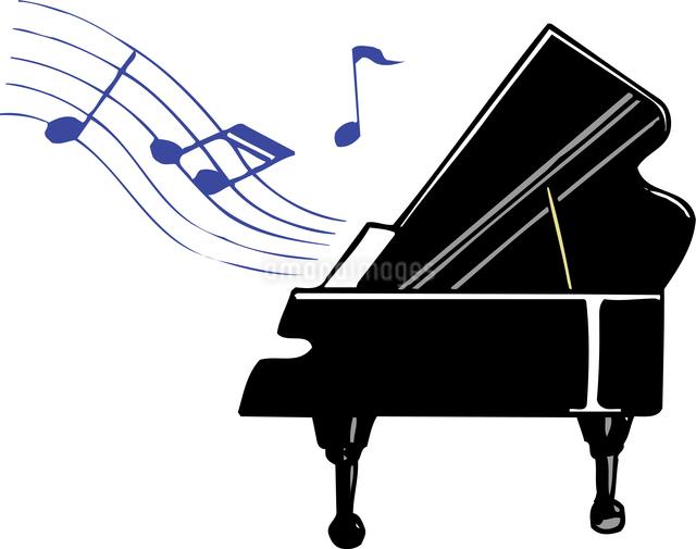 グランドピアノのイラスト素材 [FYI04197236]