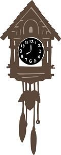 鳩時計のイラスト素材 [FYI04197389]