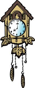 鳩時計のイラスト素材 [FYI04197396]
