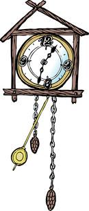 鳩時計のイラスト素材 [FYI04197397]