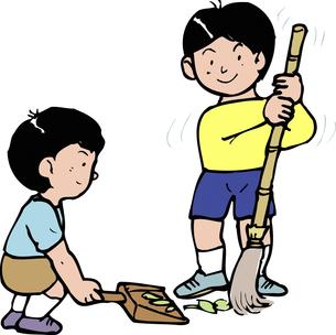 庭掃除のイラスト素材 [FYI04199158]